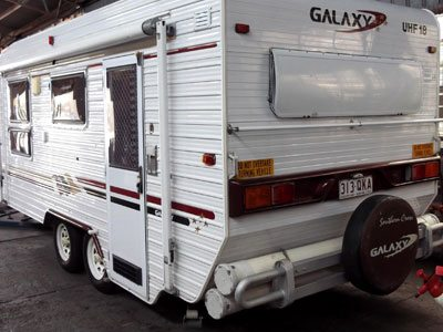 caravan being quoted for repair - AllBrand Caravavn