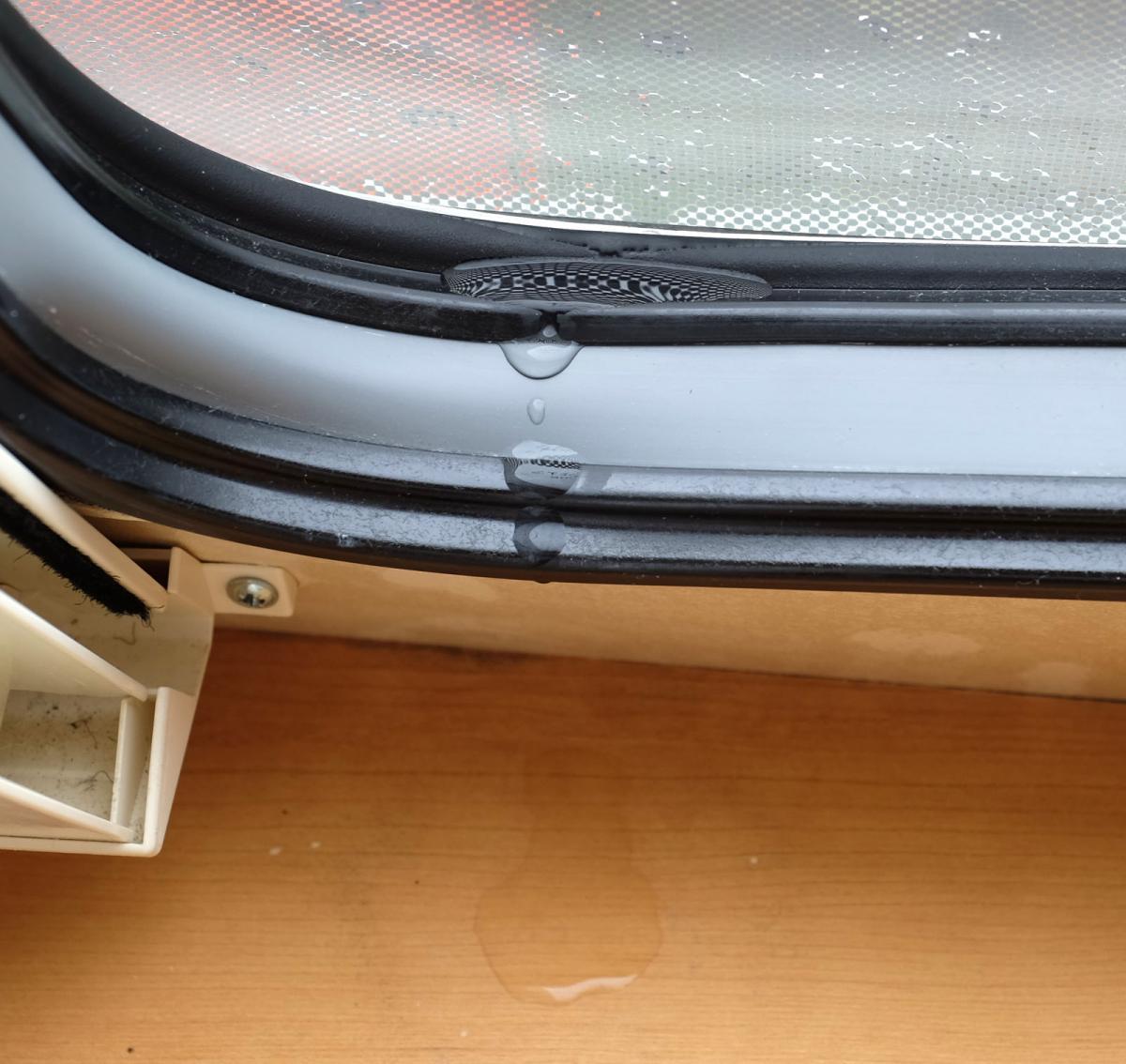 Caravan Window Leaking