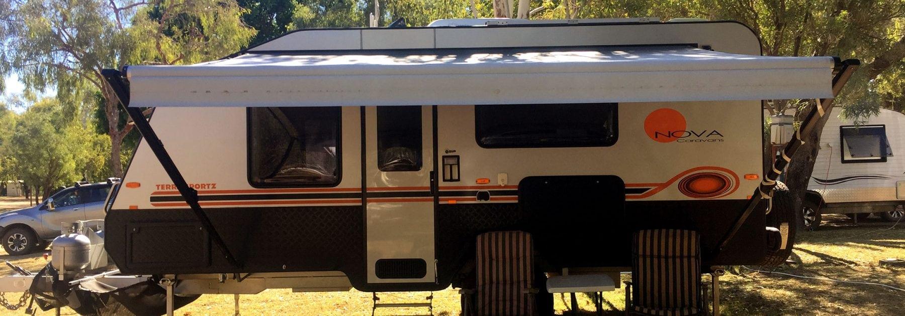 Caravan Fiberglass Repair - AllBrand Caravan Services