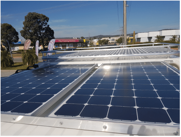 common types of solar panels