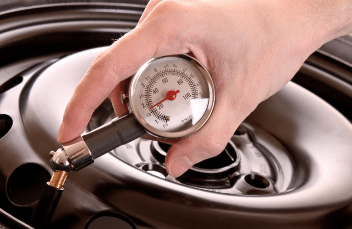 Check Your Actual Tyre Pressure