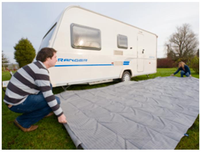 How to put up caravan awning