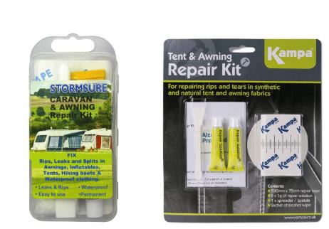 Caravan awning repair kit