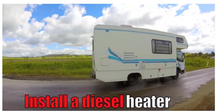 Installing Diesel Heaters For Caravans